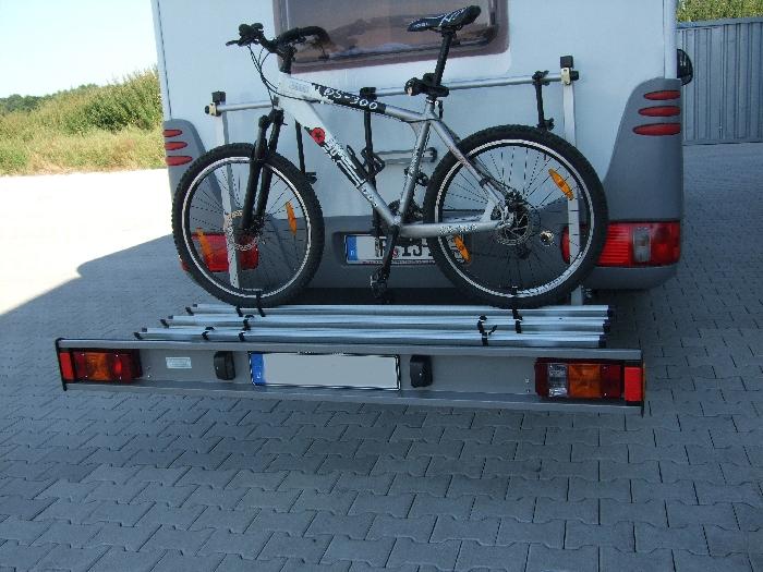 alutrans premium wohnmobil fahrradtr ger f r 4 fahrr der o. Black Bedroom Furniture Sets. Home Design Ideas