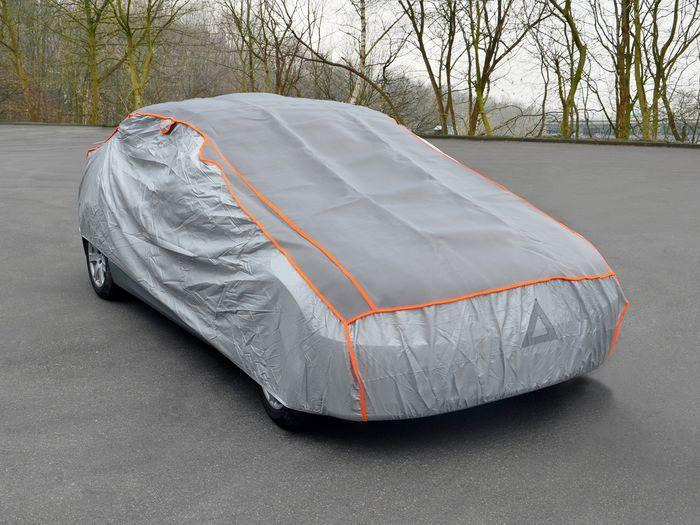 Ford Mustang 2-T Cabrio Bj. 2018- Auto Schutzhülle-Hagelschutz, Basic