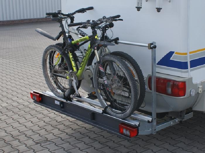 alutrans prestige wohnmobil fahrradtr ger f r 2 fahrr der. Black Bedroom Furniture Sets. Home Design Ideas