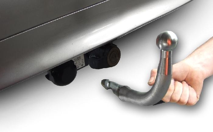 Anhängerkupplung incl. E-Satz Renault-Vel Satis - 2002-2005 Ausf.:  horizontal