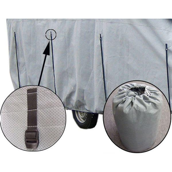 wohnwagen schutzh lle f r wohnwagen v l nge 4 27 5 18m x. Black Bedroom Furniture Sets. Home Design Ideas